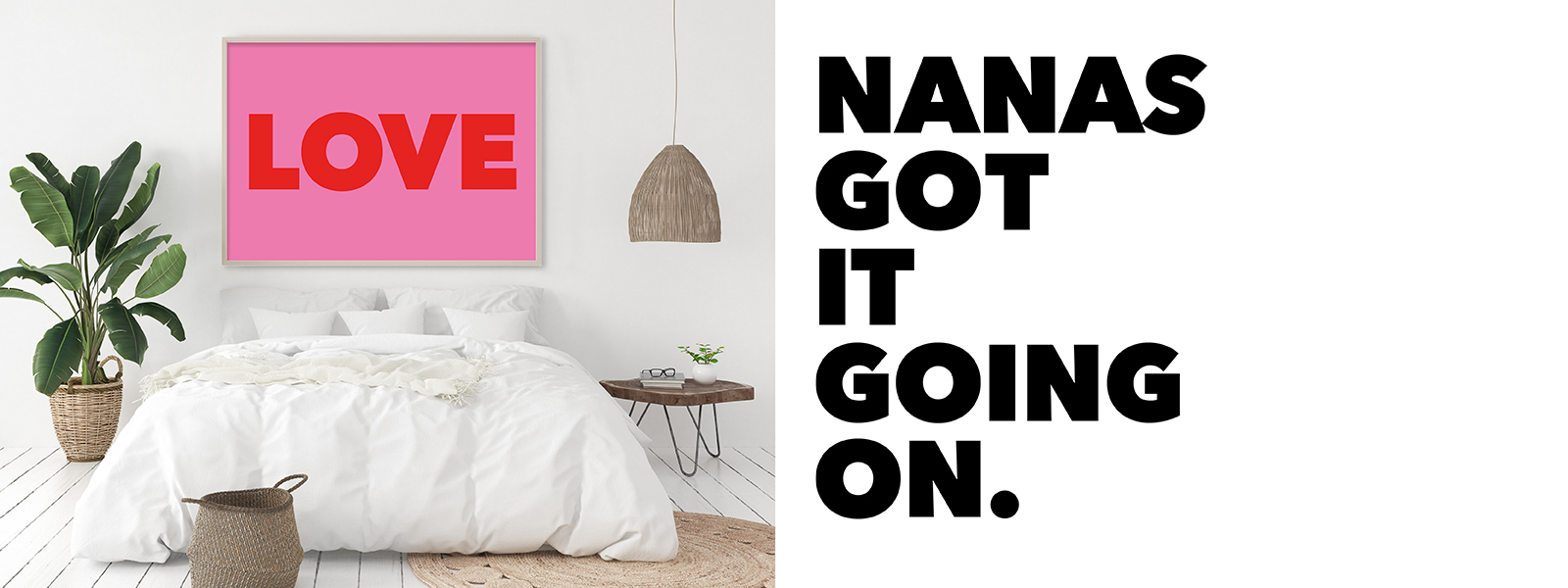 Typography Art Prints and Posters from Gallery Wall Warriors the Nanas of Anarchy.