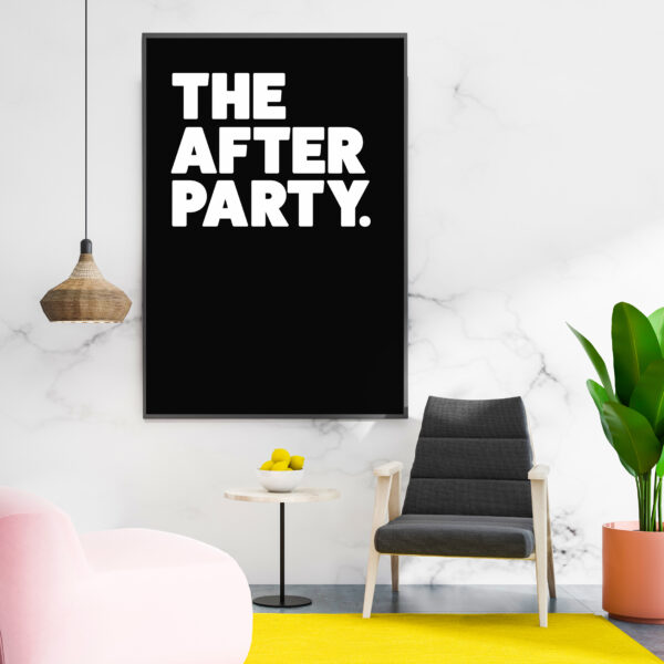 The after part art print